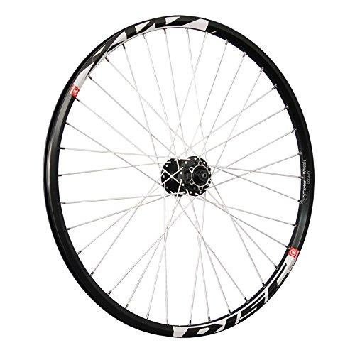 Taylor Wheels 26 pouces roue avant vélo Mach1 MX Disque Shimano M475 6trous noir
