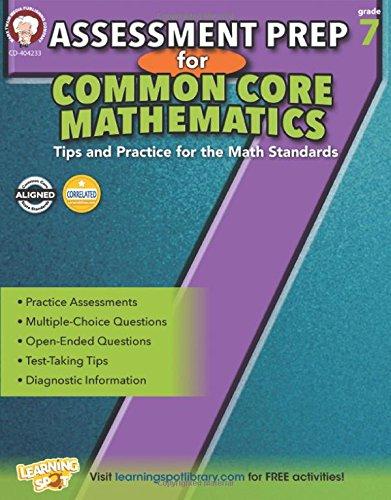 Assessment Prep for Common Core Mathematics, Grade 7 (Common Core Math Literacy) -  Karise Mace, Paperback