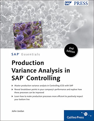 Production Variance Analysis in SAP Controlling