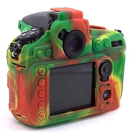 Hihouse - Carcasa de silicona impermeable para cámara Nikon D810 ...