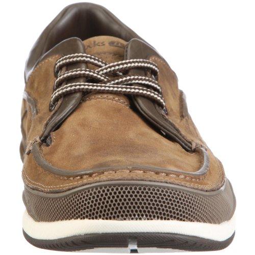 Clarks Orson Lace 20343420, Herren Halbschuhe Braun (Brown Leather)