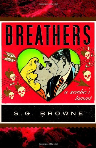 Book cover for Breathers: A Zombie's Lament