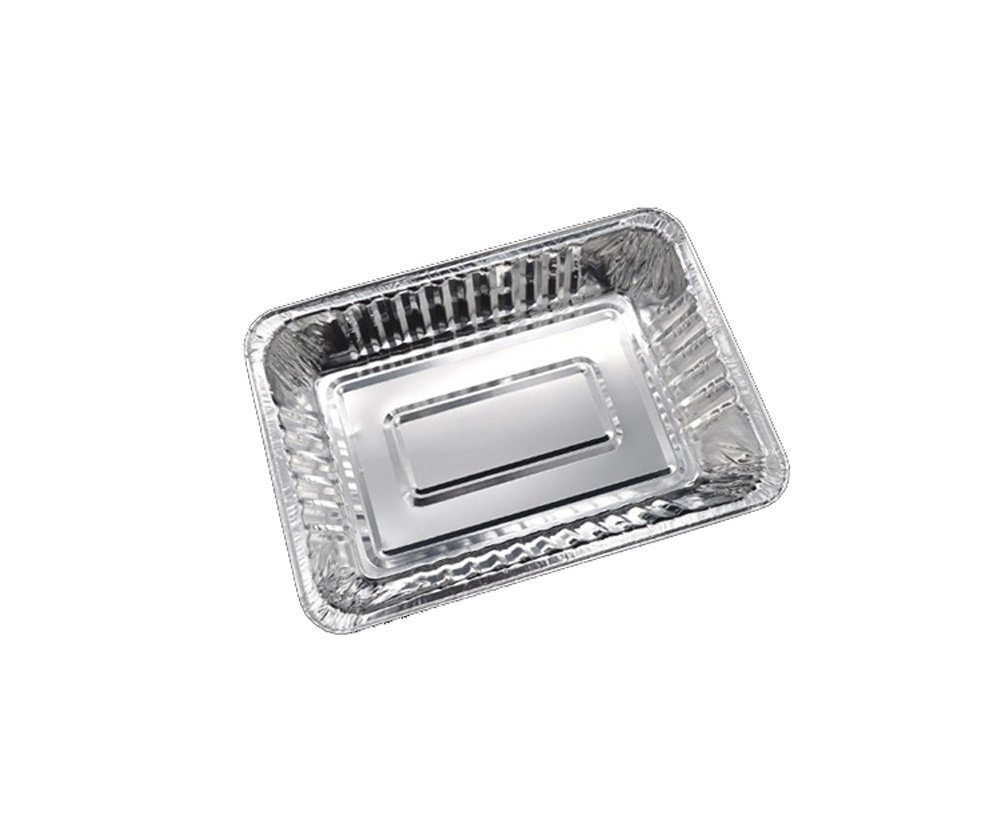 Set of 10 Aluminum Drip Pans, Foil liners for grease catch pan, 8.5