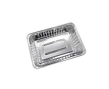 10 piezas Bandejas De Aluminio Pequeñas, 21,8 x 15,5 x 3