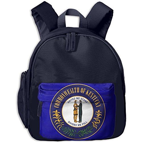 Kentucky Flag KY Kid School Bags Shoulder Backpack (Frankfurt Halloween)