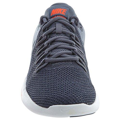 Nike Hommes Lumière Lunaire Chaussure De Course Apparente Carbone / Obsidienne