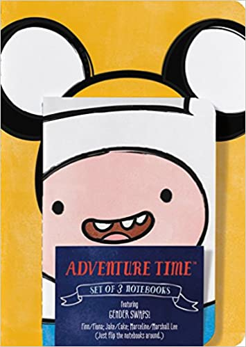 amazon adventure time notebook set gender swap set of 3