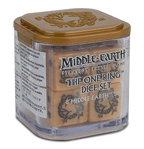 Middle Earth SBG: The One Ring Dice Set - Lord Of The Rings Dice