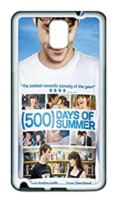 Creative 500 Days Of Summer TPU Silicone Case Cover for Samsung Galaxy Note 3 N9000 White