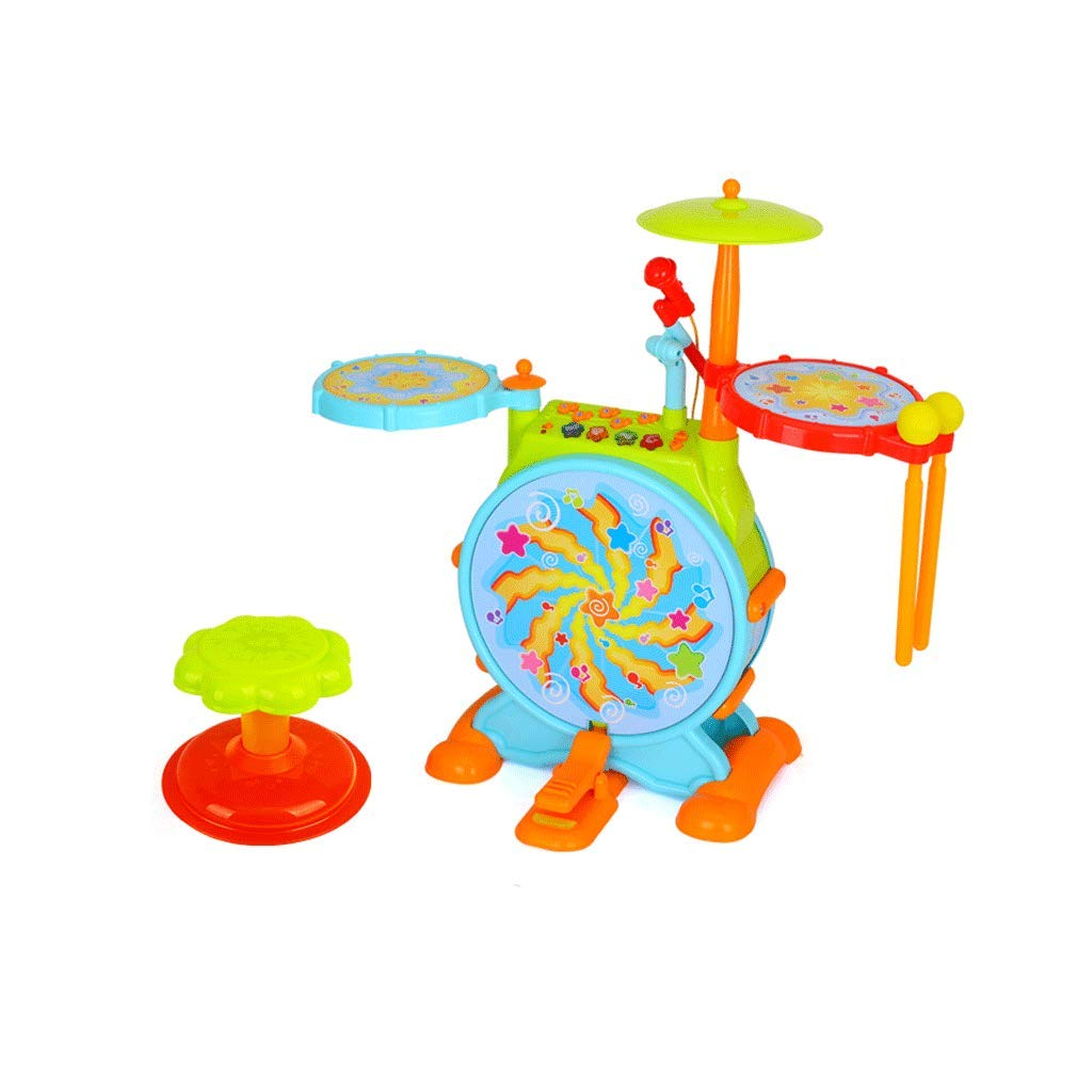 【破格値下げ】 LIUFS-ドラム 子供の初心者幼児教育の教育用ドラムパーカッション2つのスタイル (色 : B-L l) LIUFS-ドラム B-L (色 l B-L B07K7914M5, 坪井花苑shop:db9b32fb --- sabinosports.com