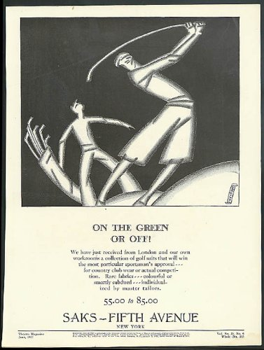 on-the-green-or-off-saks-fifth-avenue-golf-wear-ad-1927-darcy-art