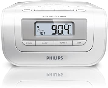 Philips Radio reloj AJ3916/12 - Radio CD (Digital, FM,MW, CD,CD-R,CD-RW, 2 W, LCD, 2,4 kg): Amazon.es: Electrónica