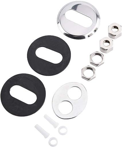 Zerodis 1//10,2/cm in lega di zinco a doppia testa rubinetto cromato osmosi inversa filtro acqua potabile rubinetto della cucina