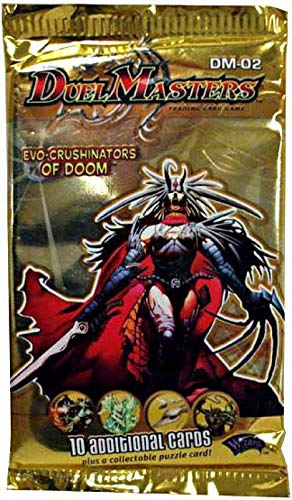 Duel Masters Cards Game Evo-Crushinators of Doom Booster Pack