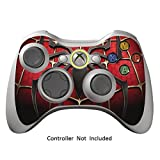 Cheap Skin Stickers for Xbox 360 Controller – Vinyl High Gloss Sticker for X360 Slim Wired Wireless Game Controllers – Protectors Stickers Controller Decal – Widow Maker Black [ Controller Not Included ]