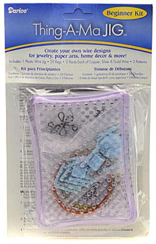 (Darice Thing-A-Ma-Jig Wire Wrapper (Beginner's Kit))