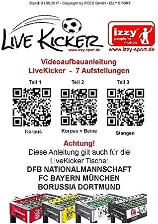 liveki Redecker – Futbolín Borussia Dortmund, 7 ranuras de ...