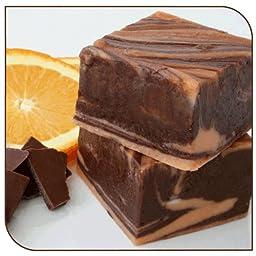 Mo\'s Fudge Factor, Dark Chocolate Orange Fudge, 2 Pound