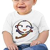 Kim Lennon Happy Face Emoji Custom Newborn Short-sleeve Tshirt...