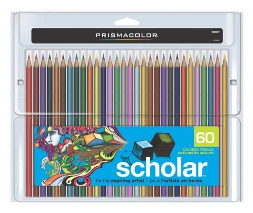 Prismacolor Scholar Colored Pencils (3-Pack of 60) by Sanford