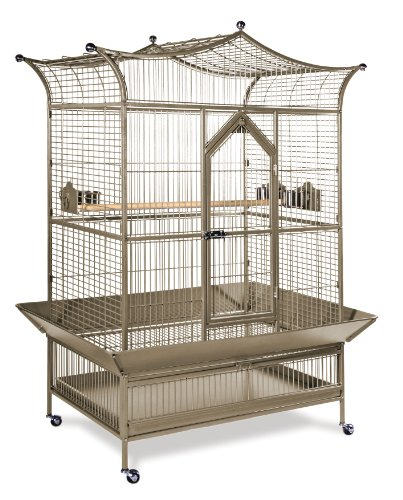 Prevue Pet Products Large Royalty Bird Cage 3173COCO, Coco Hammertone