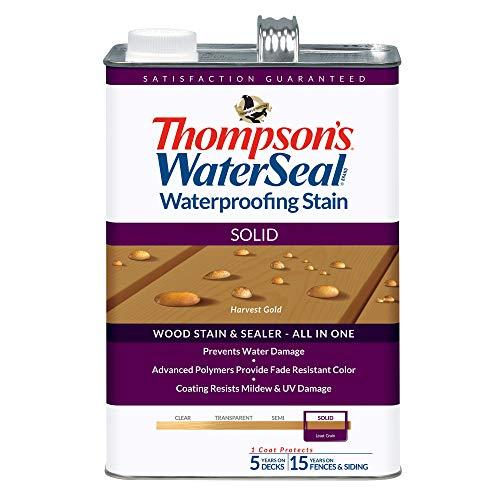 Homes Gold Seal (THOMPSONS WATERSEAL TH.043811-16 Solid Waterproofing Stain Harvest Gold)