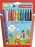 STABILO Trio Frutti Scented Felt Pen (Pack of 12)