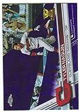 2017 Topps Chrome Baseball Purple Refractor /299 #138 Tyler Naquin Indians