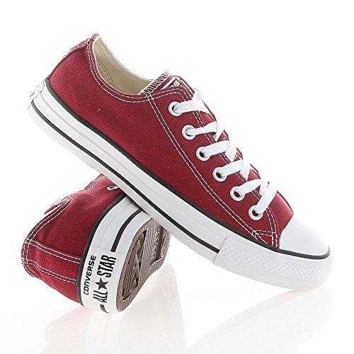 Converse - Chuck Taylor All Star - Color: Rojo burdeos - Size: 36.0