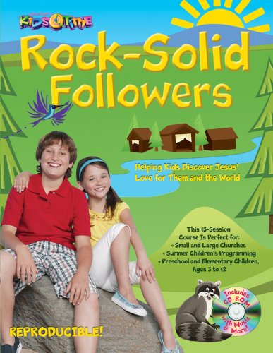 Activity Books Rock Camp (KidsTime Rock Solid Followers: Outdoor camp theme; 13 Bible lessons for kids aged 3–12; Paul follows Jesus to show us how Jesus meets our every need—for courage, joy, more! (13 Week Bible Curriculum))