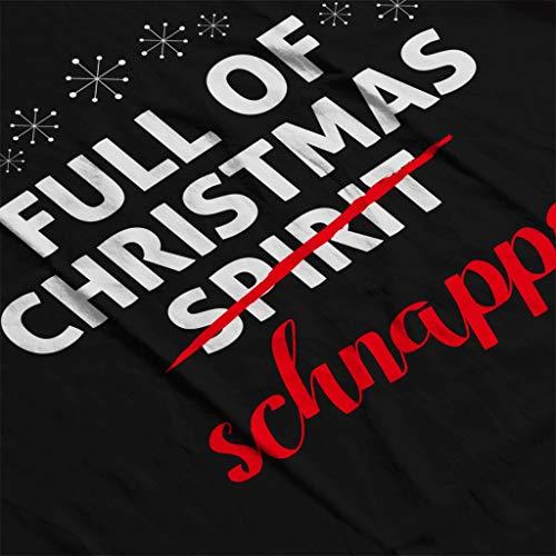 Women's Full Of Christmas Sweatshirt Black Schnapps Coto7 qwxvav