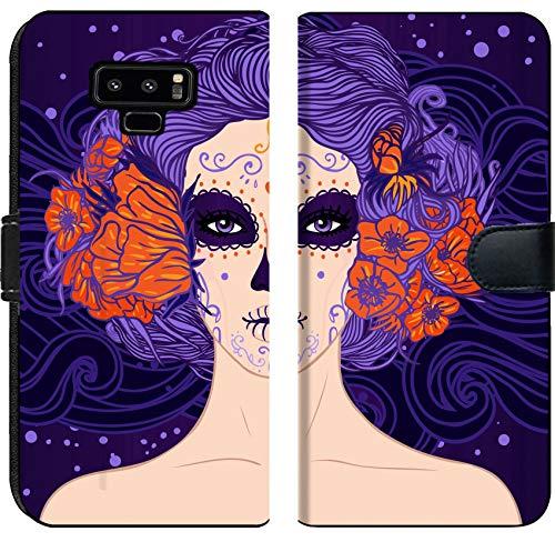 Liili Premium Samsung Galaxy Note9 Flip Micro Fabric