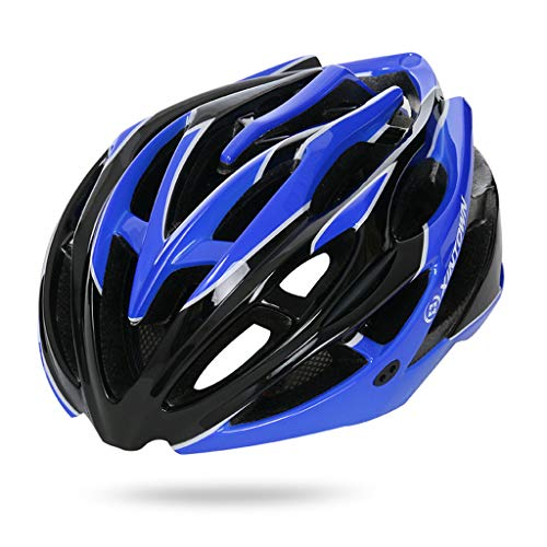 (hositor Hats for Men, Light Bicycle Helmet Men&Women Road and Mountain Bicycle Helmet Navy)