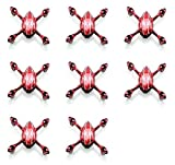 HobbyFlip 8 x Quantity of Hubsan X4 H107C Quadcopter H107-A21 Frame Body Fuselage Replacement Part