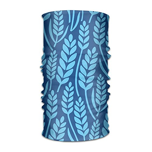 Bing4Bing Unisex Bandanas Beanie Cap Turban Headscarf Sweatband Headwear Headscarf Blue Sea Grass free shipping