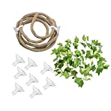 TFWADMX Bend-A-Branch Jungle Vines, Artificial Ivy Leaf Pet Habitat Decor for Lizard,Frogs, Snakes and More Reptiles