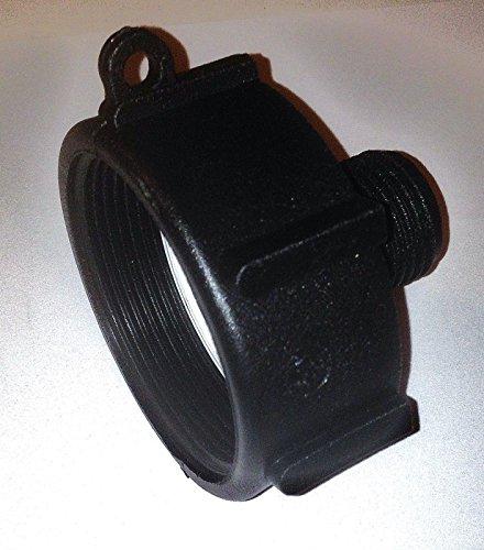 275 330 G Ibc Tote Tank Food Grade Drain Adapter 2  Fine Thrd 2 Nptx Male G Hose
