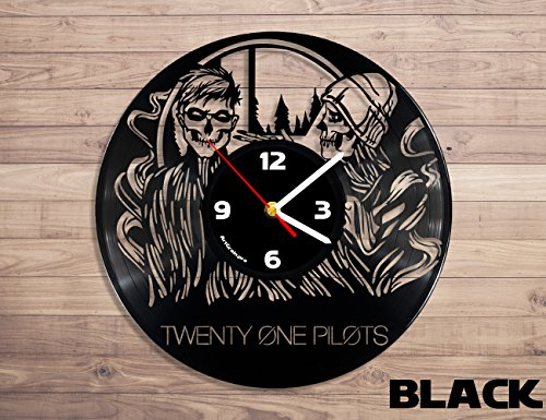 Twenty One Pilots Vinyl Clock Music Decor Vinyl Record Wall