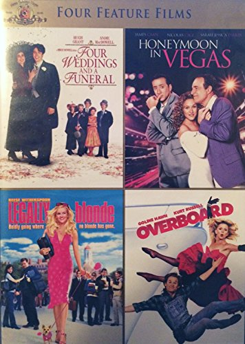 Four Weddings and a Funeral; Honeymoon in Vegas; Legally Blonde; Overboard (Four Feature Films)