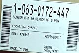 Raven, 063-0172-447, SENSOR RFM 60 DEUTCH HP 3 PIN