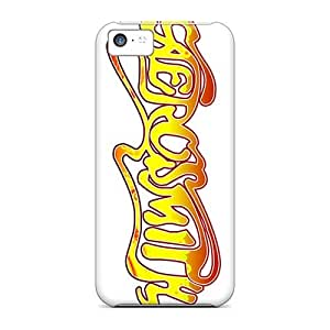 InesWeldon Iphone 5c Scratch Resistant Hard Cell-phone Case Custom Nice Aerosmith Band Pictures [HGr10101wygl]