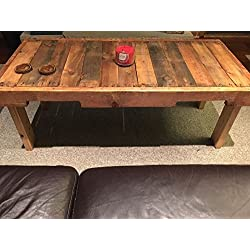 Reclaimed Wood Coffee Table Pallet Home Furniture