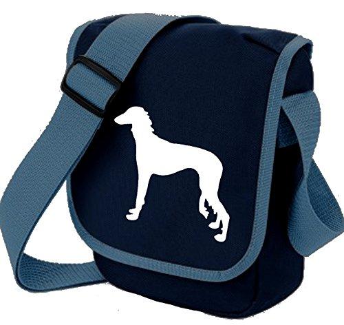 Silhouette Saluki Saluki Bag Sighthound Dog Bag Blue Reporter Choice of Dog Colours Shoulder Dog White Gift Bag Bag Saluki Desert Y8gxq0wRx