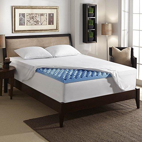 Sleep Innovations 3 Inch Gel Memory Foam Mattress Topper