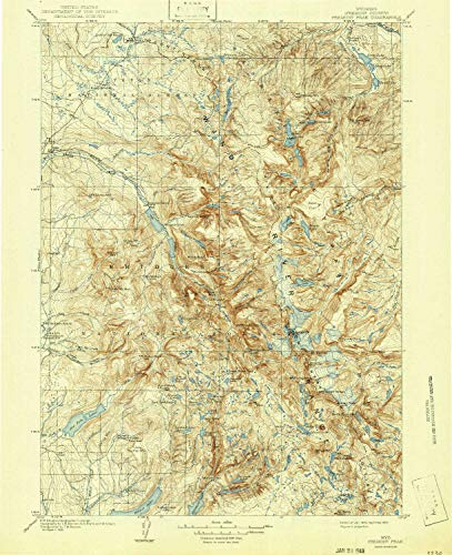 1:62500 Scale Historical 20.1 x 16.5 in Updated 1894 YellowMaps Baltimore MD topo map 15 X 15 Minute 1894