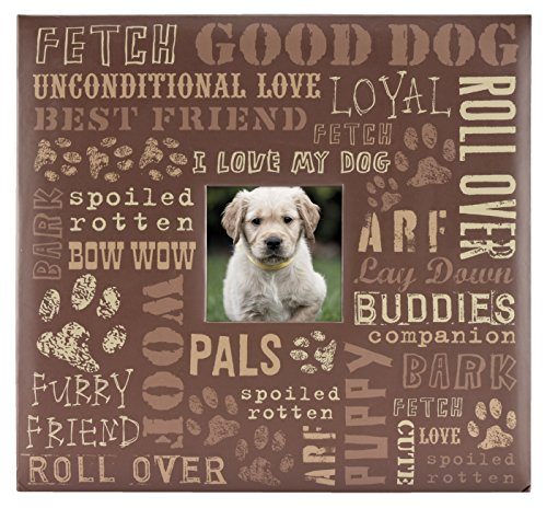 MCS MBI 13.5x12.5 Inch Good Dog Pet Theme Scrapbook Album with 12x12 Inch Pages (860125) by MCS
