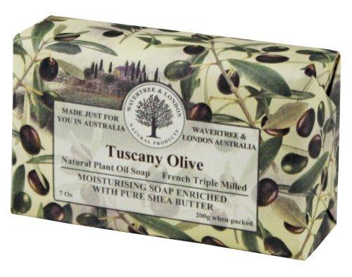 Wavertree & London Tuscany Olive luxury soap (1 bar) by Simple Scents Australia
