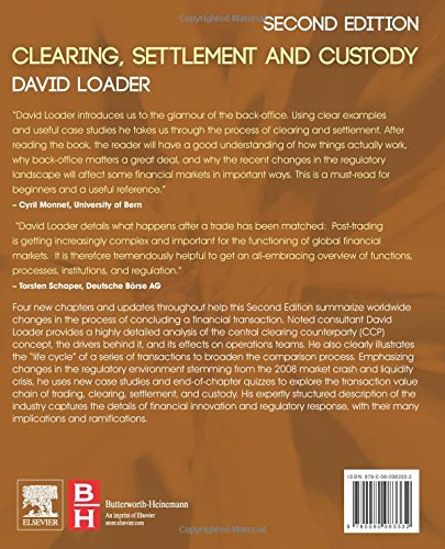 clearing settlement and custody david loader pdf free download