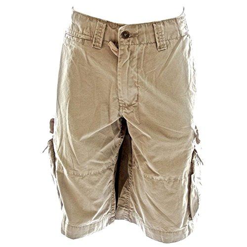 Molecule Mens Sizeups Cargo Shorts 52010-100% Premium Quality Tough Cotton Larger Plus-Sizes, 4X-Large Desert Khaki Cream Khaki Cargo Cream