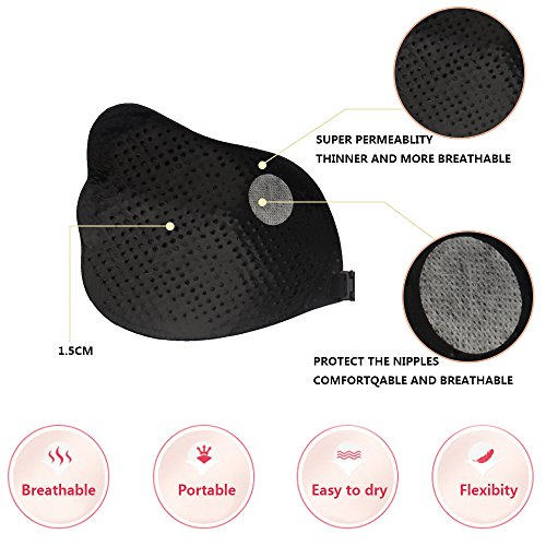 Strapless up Black Sujetador Seamless Invisible Bra Silicone Wedding Woman Push Aibrou Reutilizable vqExwOtFF
